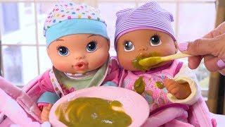Poupon Baby Alive Bébé Mange sa Purée Jouets et Accessoires
