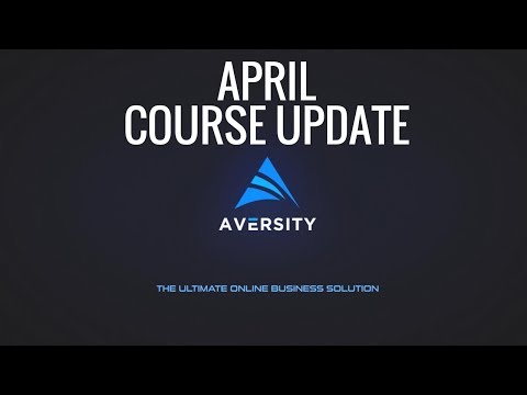 Aversity April Course Update List
