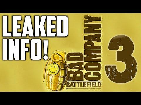 BATTLEFIELD 2018 LEAKED! - Battlefield Bad Company 3 (LEAKED INFO)