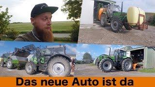 FarmVLOG#240 - Das neue Auto ist da