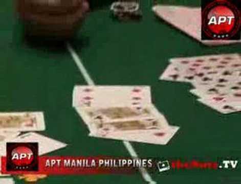 Asian Poker Tour Manila - Chinese Poker