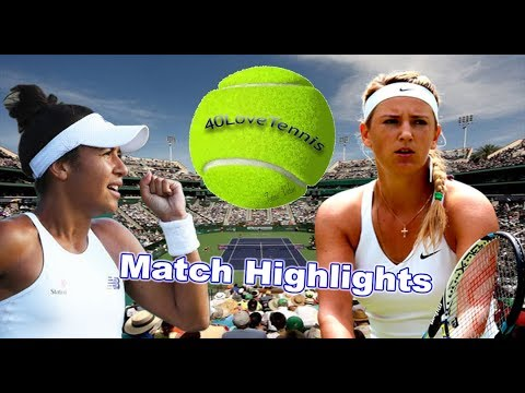 Victoria AZARENKA vs Heather WATSON INDIAN WELLS 2018 R1 Highlights HD