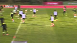 Golazo de equipo de la Selección española en el entrenamiento