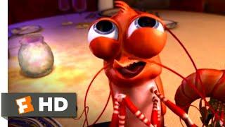 Shark Tale 2004 - Squeaky Shrimp Scene 3/10 | Movieclips