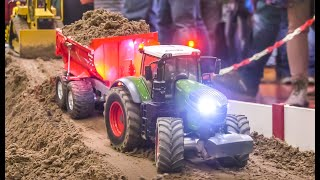 Modified RC Tractors! RC Trucks! Hard Construction Site Work!