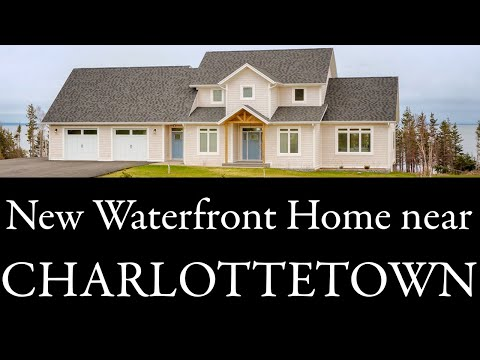 Charlottetown Prince Edward Island area New Waterfront Home 50 Allans Rice Pt PEI Canada Real Estate