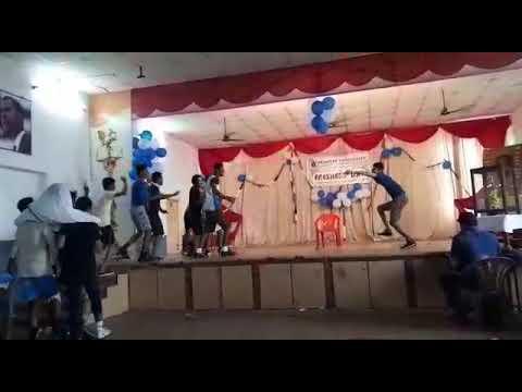 Freshers day celebration --2k17 😎@srinivas university mangalore