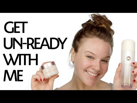 Get Un-Ready With Me: Nighttime Skincare Routine for Sensitive Dry Skin