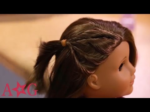 Simple Mini Braids | Doll Hairstyles | American Girl