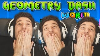 """OPET SAM POLUDIOOOOO!!!!""-GEOMETRY DASH WORLD (RAGE MODE)"
