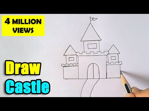 how-to-draw-castle-for-kids