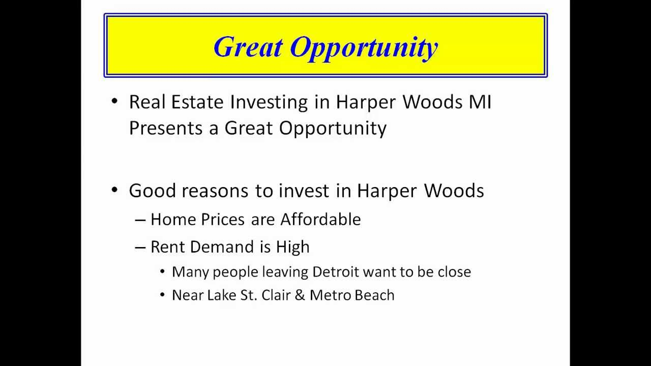 Section 8 Harper Woods MI - Jetsetters Investment Properties (248 ...
