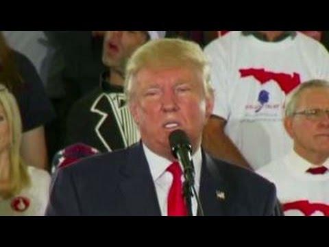 Trump blasts Paul Ryan, Republicans at Florida rally