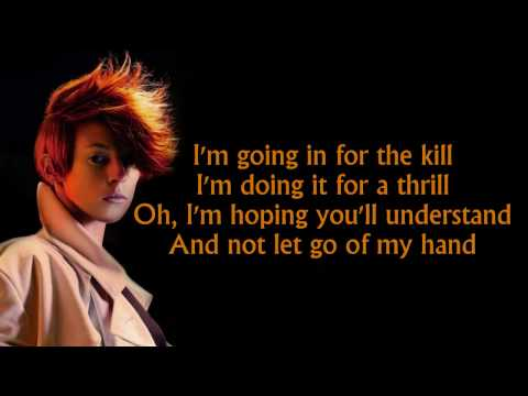 La Roux  In For The Kill lyrics HD