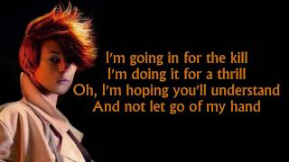 La Roux - In For The Kill (lyrics) [HD]