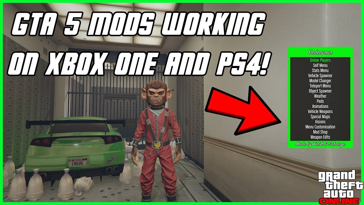 HOW TO INSTALL GTA 5 MODS WITH USB! DOWNLOAD & TUTORIAL! (XBOX 360, XBOX  ONE, PS3, PS4) NEW 2019!