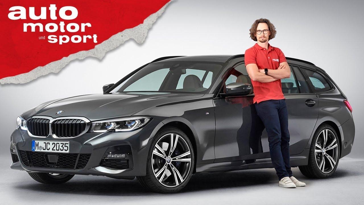 Bmw 3er Touring 2019 Was Steckt Im Sport Kombi Review Neuvorstellung Auto Motor Und Sport