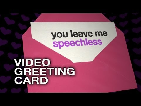 You leave me speechless - Movie Greeting E-Card - Funny Love