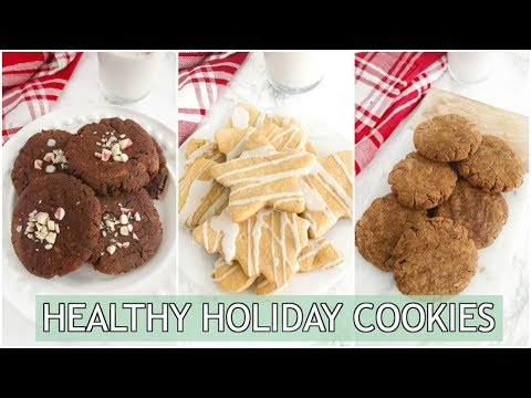 Healthy Holiday Cookies | paleo holiday recipes