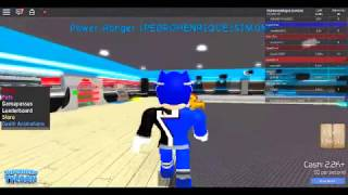 Playing super hero tycoon on Roblox Part 2