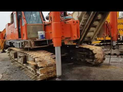 [ Winwin Used Machinery ] Used pile driver Hitachi PD100 1989yr For sale
