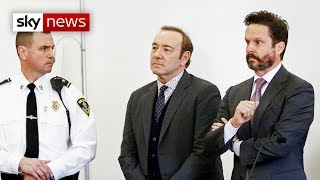 Kevin Spacey appears in court over sexual assault allegations