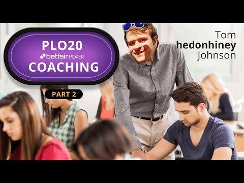 Pot Limit Omaha Micro Stakes Coaching 2/4