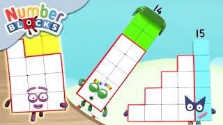 Numberblocks - Teenage Kicks!   Learn to Count