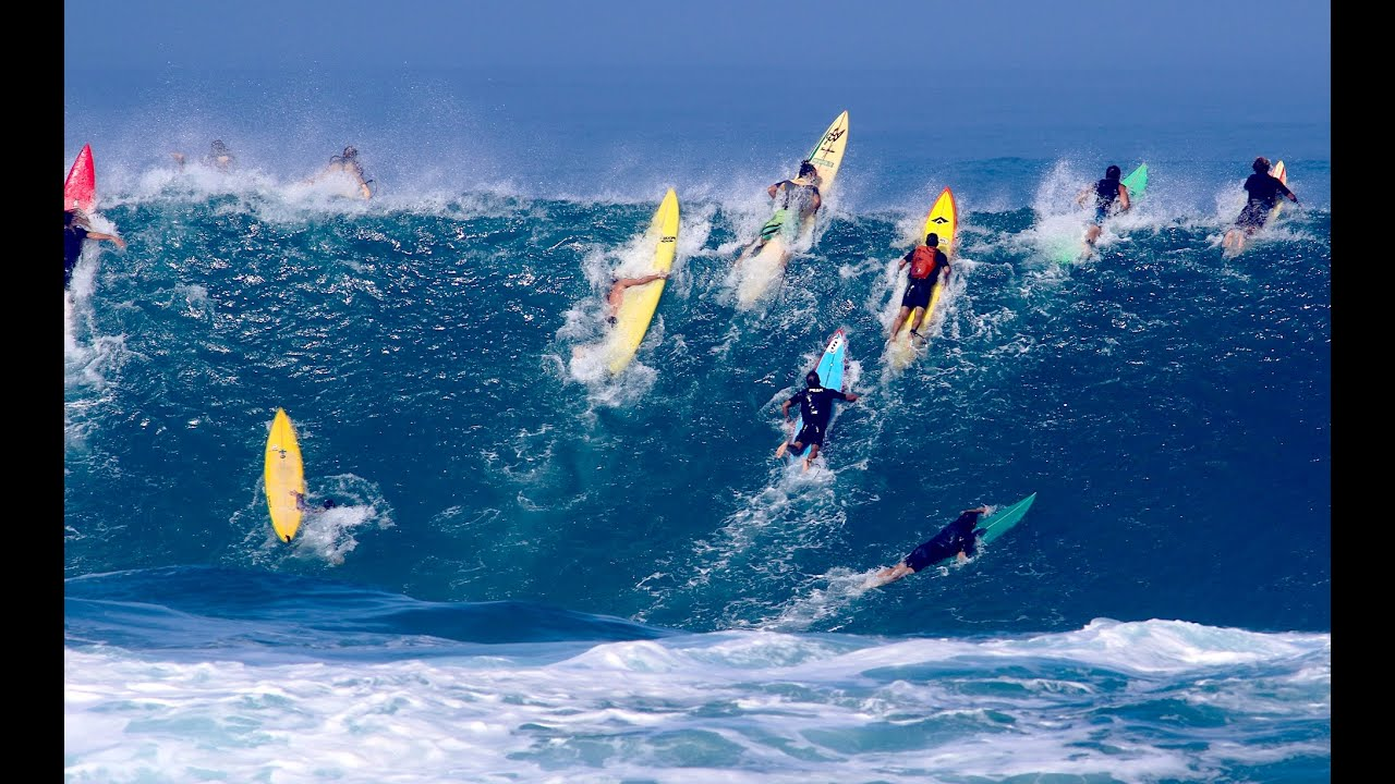 FlHi Girls Surfing & Sports Show Waimea
