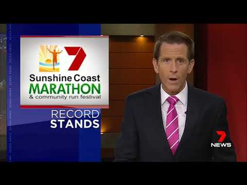 Sunshine Coast Marathon 2018, 7 News Bulletin