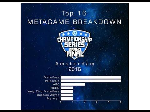 CCG Grand Final Amsterdam Top 16 Deck List & Analysis [Dec 16]