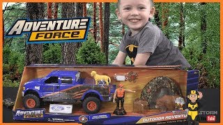 Pretend Play & Unboxing Adventure Force Imagination Outdoor Adventure Camping Series Toy