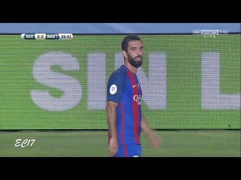 Arda Turan vs Sevilla (Spanish Super Cup) (14/08/2016) 720p HD by EC17