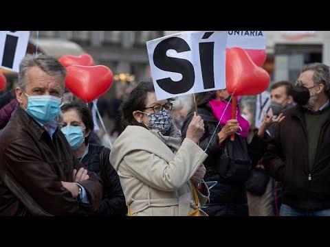 بأغلبية أصوات اليسار والوسط .. البرلمان الإسباني يشرع القتل الرحيم…