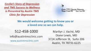 Cecilia's Depression Story to Wellness with TMS Therapy