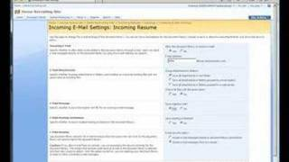 How to: Enable incoming/outgoing email for SharePoint 2007