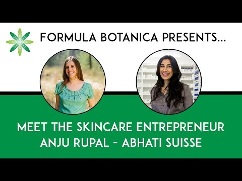 Meet the Skincare Entrepreneur: Anju Rupal from Abhati Suisse