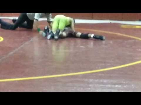 Aaron Dillard 115 lbs vs Anne Chestnut 7 Jan 2014 - New Century International Middle School