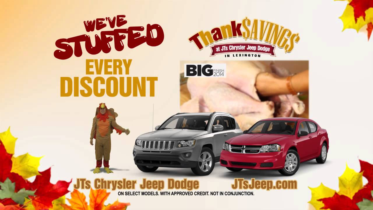 jts chrysler dodge jeep ram thanksavings v2 youtube
