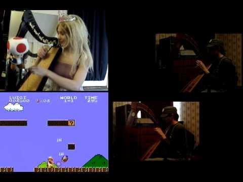 Harp Duet: Super Mario Bros in Harp!