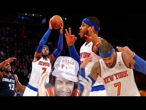 COULD OF DROPPED 82!! CARMELO ANTHONY 62 POINTS CAREER HIGH REACTION!