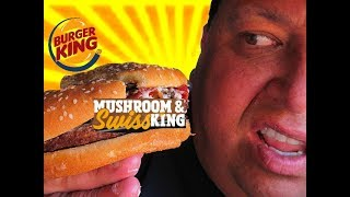 BURGER KING Mushroom & Swiss King™ Review!