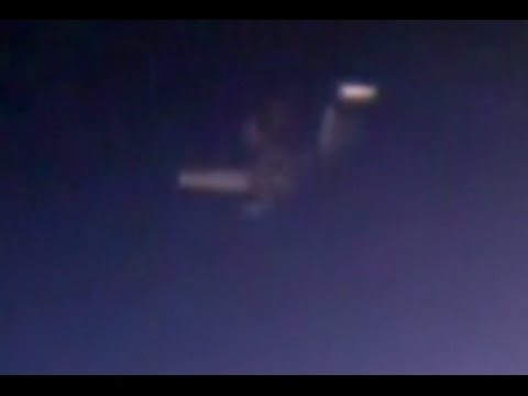 ISS:  Strange Craft in the distance.