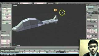 Cara Membuat Helikopter Menggunakan Aplikasi Blender