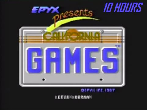 California Games Theme Intro - 10 Hours