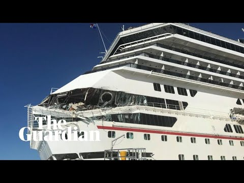 Cruise Ships Collide Off Mexican Port Of Cozumel