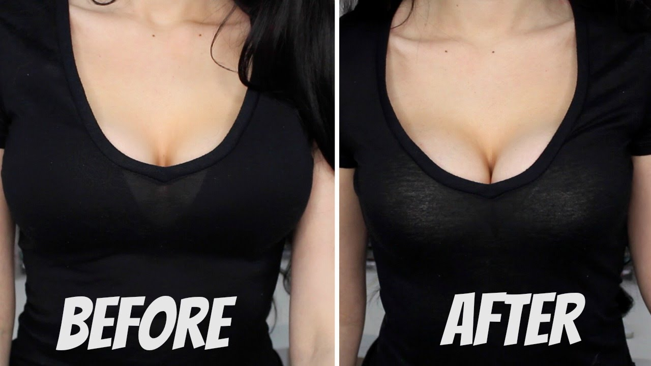 how to make small breasts look good
