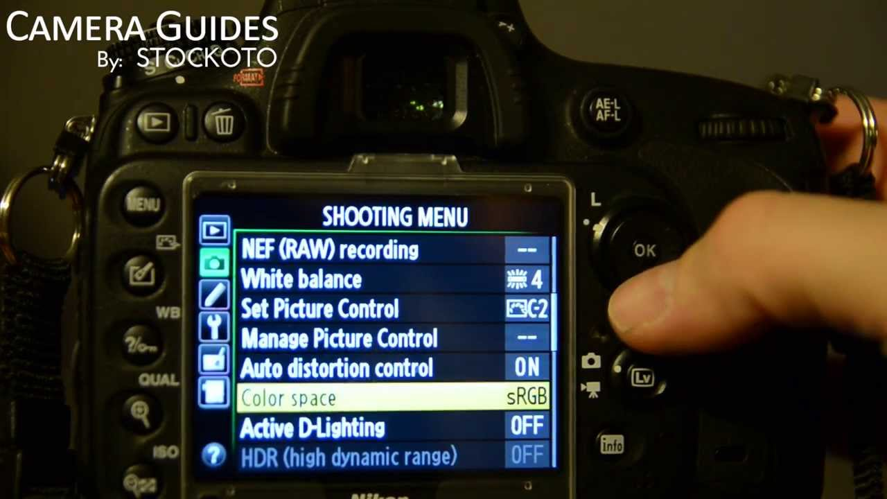 How to set Active D Lighting or Dynamic Range on a Nikon D600 & How to set Active D Lighting or Dynamic Range on a Nikon D600 ... azcodes.com