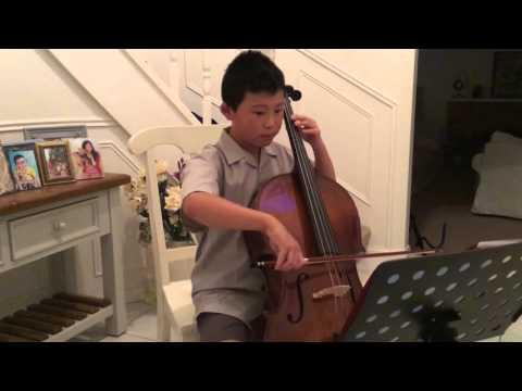 Advance Australia Fair Australian National Anthem Cello Part