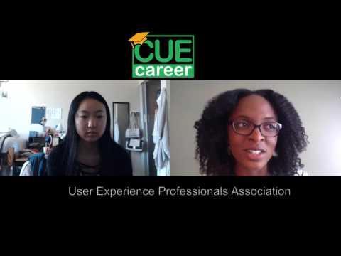 Lani, LMU Freshman Intern, Interviews Riana from User Experience Professionals Association